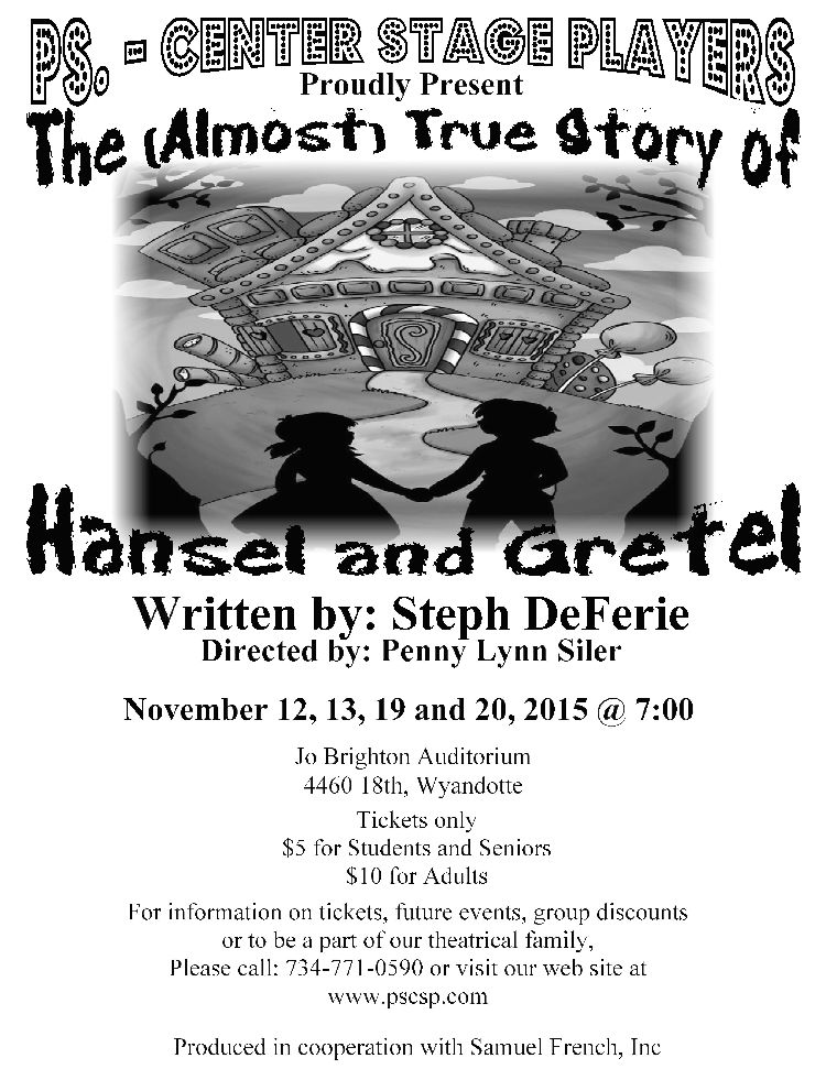 Hansel and Gretel Flier